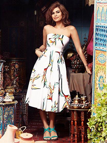 Eva Mendes Collection - Del Mar Strapless Dress - New York & Company