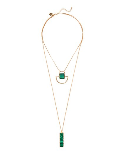Eva Mendes Collection - Double-Row Necklace  - New York & Company