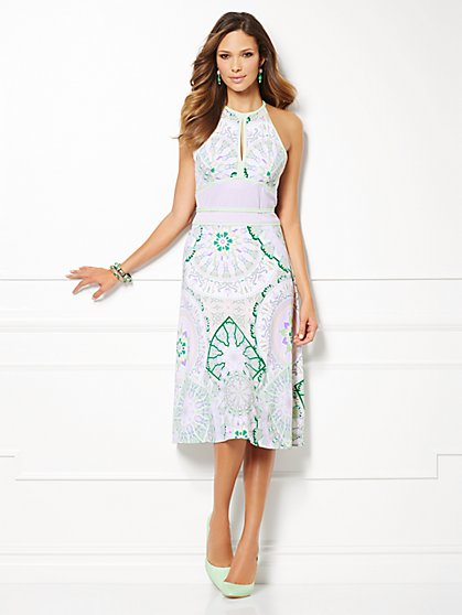 Eva Mendes Collection - Drea Halter Dress  - New York & Company