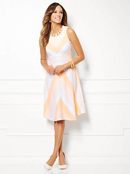 Eva Mendes Collection - Edie Striped Dress - New York & Company