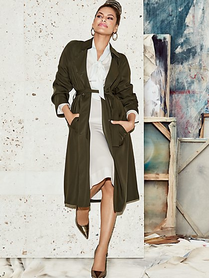 Eva Mendes Collection - Elena Trench Coat  - New York & Company