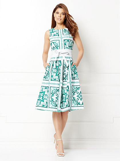 Eva Mendes Collection - Eliza Flare Dress - New York & Company