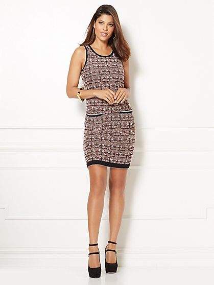 Eva Mendes Collection - Ella Bouclé Sweater Dress  - New York & Company