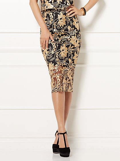 Eva Mendes Collection - Embellished Emma Pencil Skirt - New York & Company