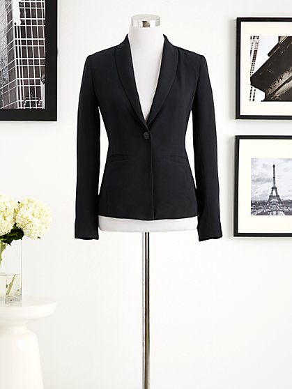 Eva Mendes Collection - Emily One-Button Jacket