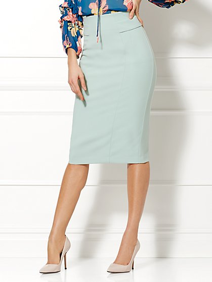 Eva Mendes Collection - Emma High-Waist Pencil Skirt  - New York & Company
