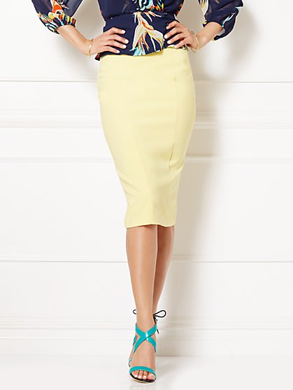 Eva Mendes Collection - Emma High-Waist Skirt - New York & Company