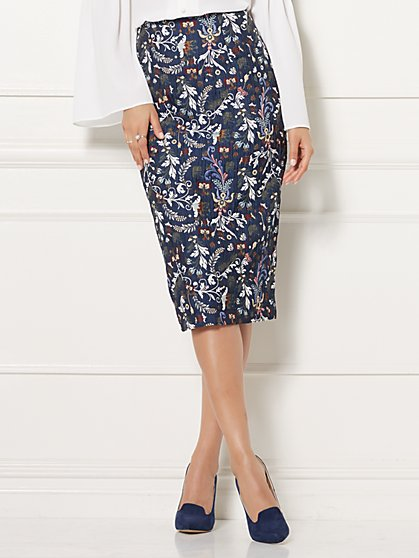 Eva Mendes Collection - Emma Jacquard Skirt - New York & Company