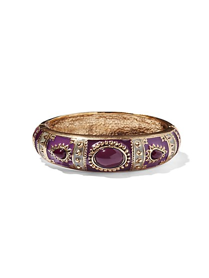 Eva Mendes Collection - Enamel Cuff Bracelet  - New York & Company