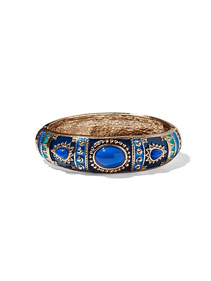 Eva Mendes Collection - Enamel Cuff Bracelet  - New York & Company