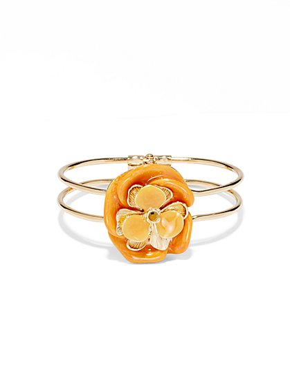 Eva Mendes Collection - Enamel Floral Bracelet  - New York & Company