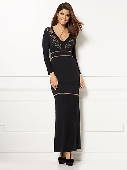 Eva Mendes Collection - Fatima Maxi Dress - New York & Company
