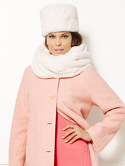 Eva Mendes Collection - Faux-Fur Snood  - New York & Company