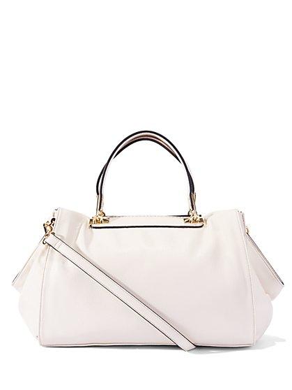 Eva Mendes Collection - Faux-Leather Crossbody Handbag  - New York & Company