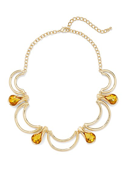Eva Mendes Collection - Faux-Topaz Necklace  - New York & Company