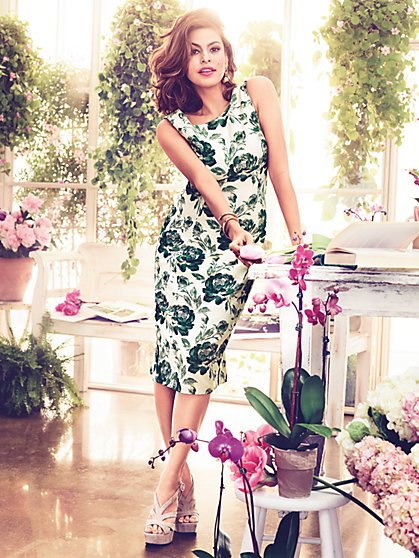 Eva Mendes Collection - Fleur Sheath Dress - New York & Company