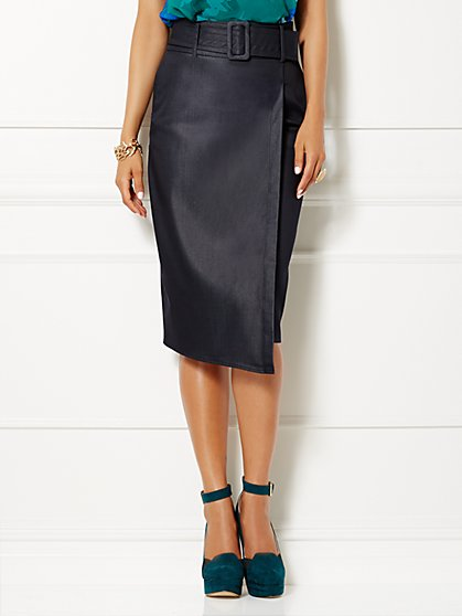 Eva Mendes Collection - Frankie Wrap Skirt - New York & Company
