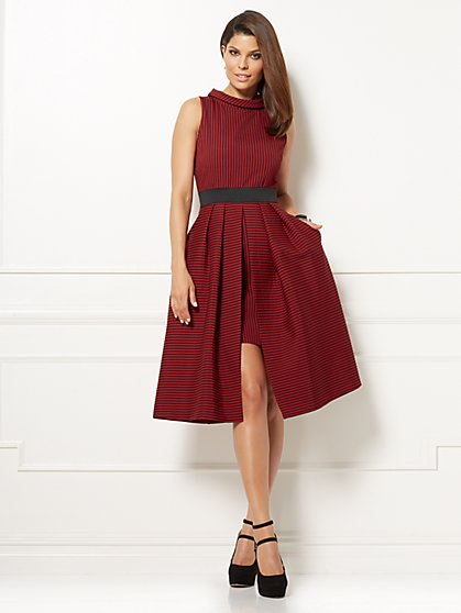 Eva Mendes Collection - Freya Dress - Red - New York & Company