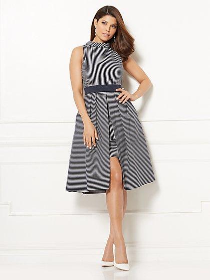 Eva Mendes Collection - Freya Flare Dress - Petite - New York & Company