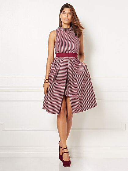 Eva Mendes Collection - Freya Flare Dress - New York & Company