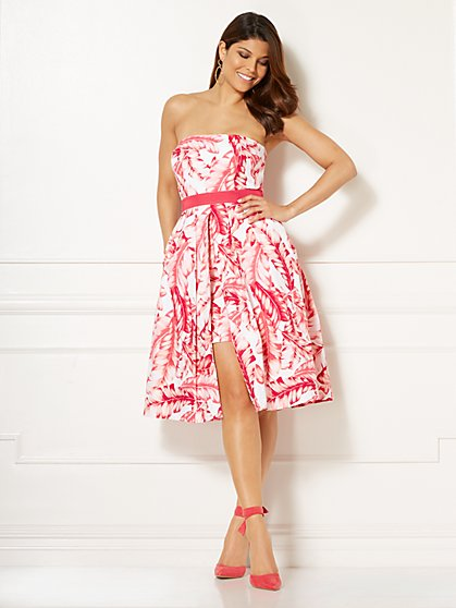 Eva Mendes Collection - Freya Strapless Dress - Pink - New York & Company
