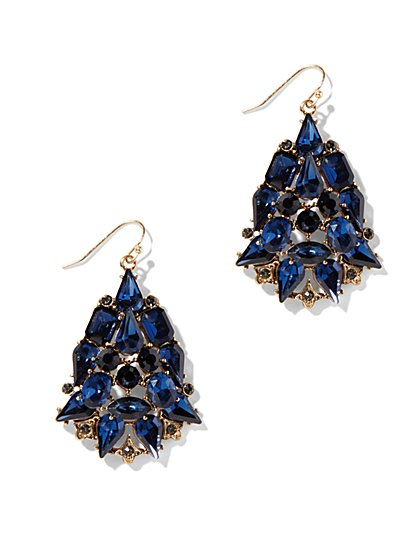 Eva Mendes Collection - Gem Drop Earring  - New York & Company