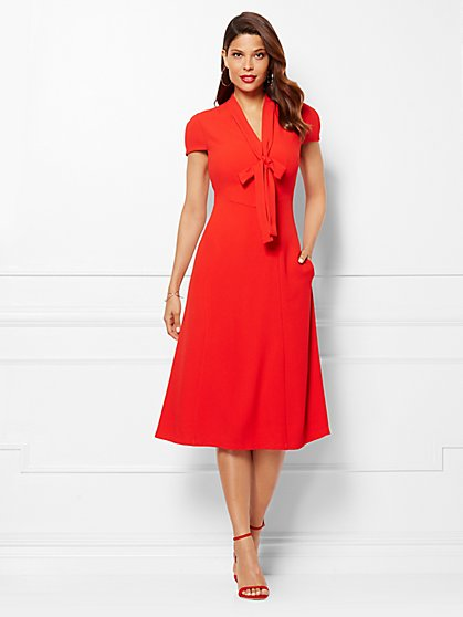 Eva Mendes Collection - Gemma Dress - Petite  - New York & Company
