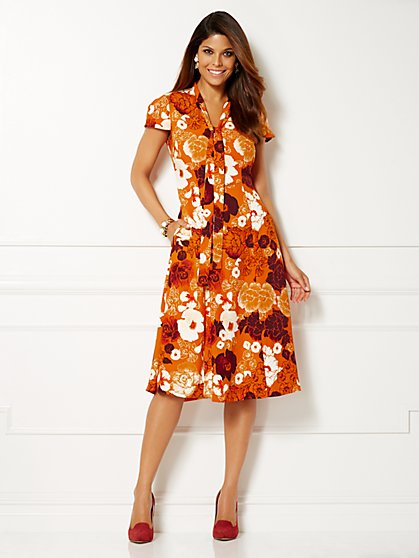 Eva Mendes Collection - Gemma Tie-Front Dress  - New York & Company