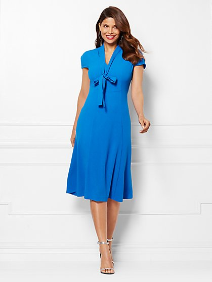 Eva Mendes Collection - Gemma Tie-Neck Dress  - New York & Company