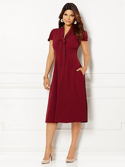 Eva Mendes Collection - Gemma Tie-Neck Dress  - New York & Company