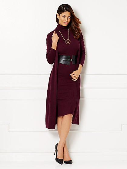 Eva Mendes Collection - Genevieve Duster  - New York & Company