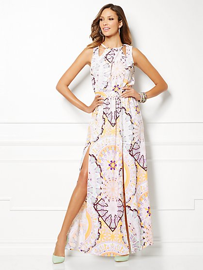 Eva Mendes Collection - Gia Maxi Dress - Print - New York & Company