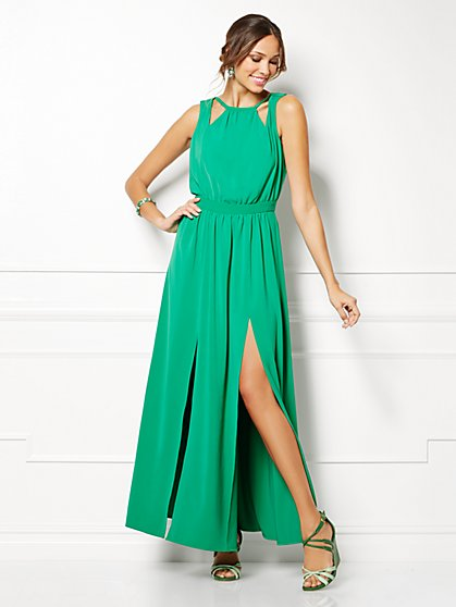 Eva Mendes Collection - Gia Maxi Dress - Solid  - New York & Company
