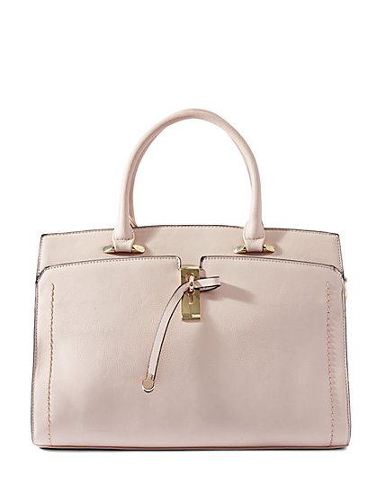 Eva Mendes Collection - Gold-Accent Satchel - New York & Company