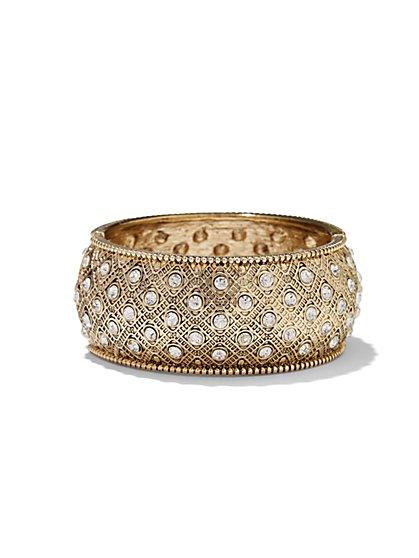 Eva Mendes Collection - Golden Filigree Bracelet - New York & Company