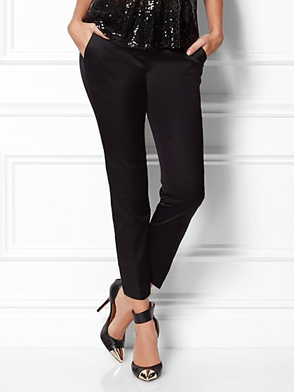 Eva Mendes Collection - Gwen Sateen Pant - New York & Company