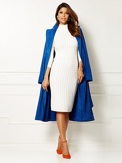 Eva Mendes Collection - Harper Sweater Dress  - New York & Company