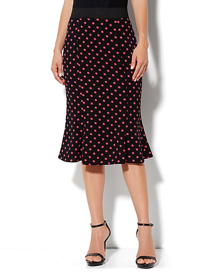 Eva Mendes Collection - Hayley Flare Skirt  - New York & Company