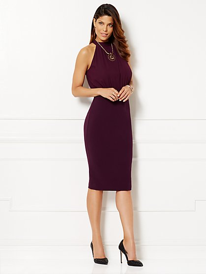 Eva Mendes Collection - Helene Crossover Dress   - New York & Company