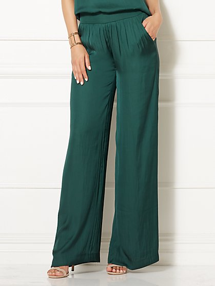 Eva Mendes Collection - Iria Palazzo Pant - New York & Company