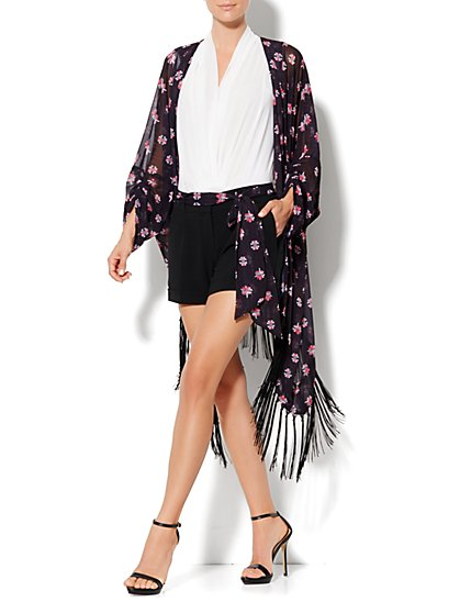 Eva Mendes Collection - Jacqueline Kimono Jacket