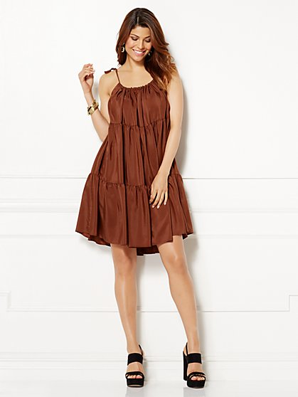 Eva Mendes Collection - Jamie Tiered Dress  - New York & Company