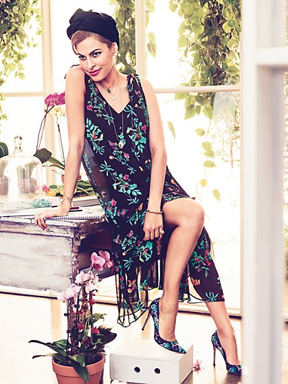 Eva Mendes Collection - Jardin Maxi Dress - New York & Company