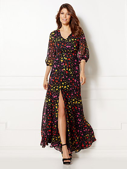 Eva Mendes Collection - Jasmine Maxi Dress - New York & Company
