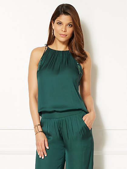 Eva Mendes Collection - Jess Tassel Top - New York & Company