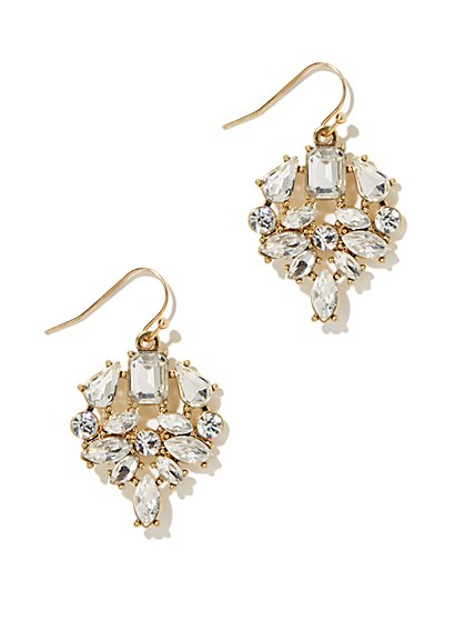 Eva Mendes Collection - Jewel Drop Earring - New York & Company