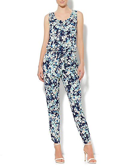 Eva Mendes Collection - Jodie Floral Jumpsuit