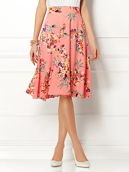 Eva Mendes Collection - Joi Circle Skirt  - New York & Company