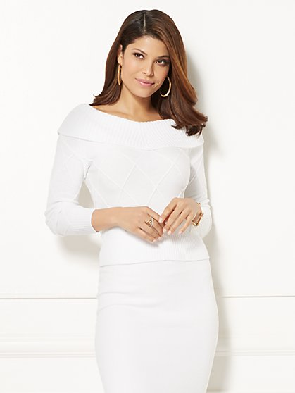 Eva Mendes Collection - Jolanta Sweater - New York & Company