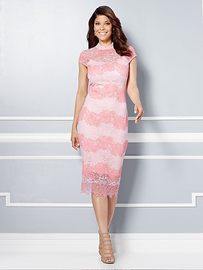 Eva Mendes Collection - Jordana Lace Sheath Dress  - New York & Company